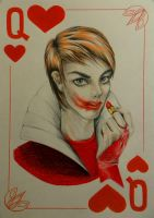 The Queen of Hearts by BlackHg