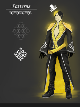 Bulbinella (aka Human Bill Cipher)- Contest Entry by peacock-beauty