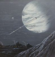 Life on the Moon of a Gas Giant by Lucyjain