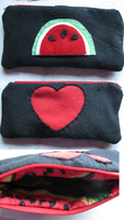 Watermelon Pencilcase by Leafscatter