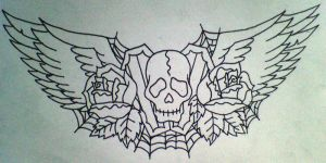 Tattoo design 1. by CherylG