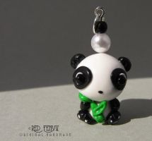 Panda charm by RedFenyx