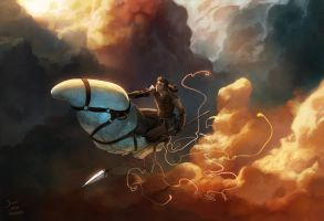team chow with alex and alge 5 by janaschi