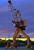 Port Crane Lens 55mm f 1,2 by sandor99