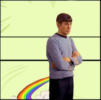 Spock is not impressed-grab my by ExtwoBlog