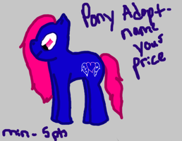 Pony Adopt - Name your price by Born-Alive