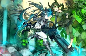 BlackRockShooter!! by Girutea