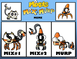 Scorpi X Tentro Mix And Murp Meme by thedrksiren