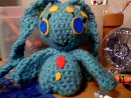 crochet Manaphy by hulafrog