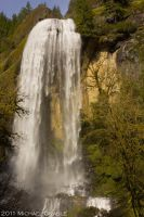 Silver Falls by 11thDimensionPhoto