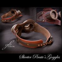 skeeter pirate mask by GeahkBUrchill