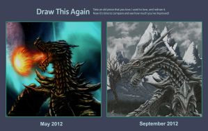 draw this again Alduin the world eater by scumpunx