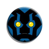 Blue Beetle 3 Button by Mutant-Cactus