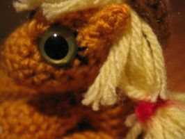 Mini Applejack Plushie Amigurumi Detail 1 by RTakeshi