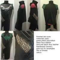finished loki tunic by sasukeharber