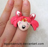 Sailor Chibi Usa Ring by egyptianruin