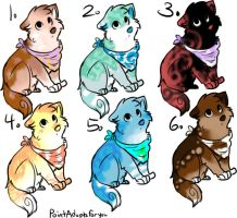 puppy adopts by MooncloudKitty