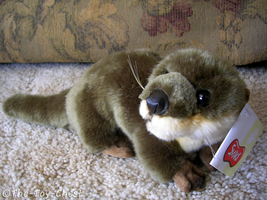 Smiki Otter Plush by The-Toy-Chest