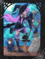 Witchy Wench -Contest entry- by Zetra