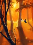 There are Butterflies in this Forest by lemur-llama
