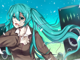 Hatsune Miku - Rolling Girl by allenkung1