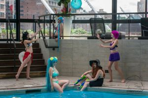 League of Legends Pool Party by Midnight-Dance-Angel