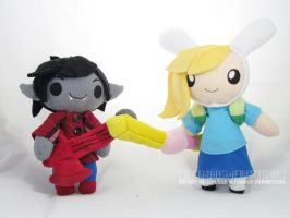 Marshall Lee + Fionna by MagnaStorm