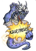 Kurimus Badge Done by lady-cybercat