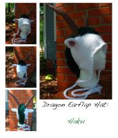 Haku Dragon Hat by TheCrochetDragon