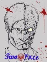 Harvey Two Face by SaintYak