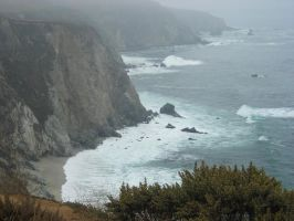 Big Sur -In Califonia- by Table-Sama