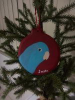 Stella the Parrotlet Ornament by MadalynC