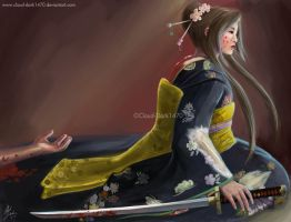 Bloody Geisha by cloud-dark1470