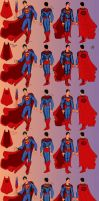Some more Superman Redesigns by sehroyal