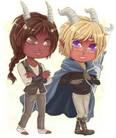 :Comm: A and Garry by BlackMayo