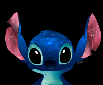 Stitch's galaxy by joselyn565