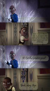 Frozone in Frozen: Do You Want to Build a Snowman? by AbductionFromAbove