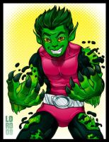 Beast  Boy by lordmesa