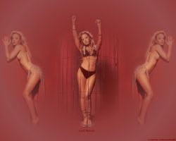Leah Remini Wallpaper Red by ChinaFan