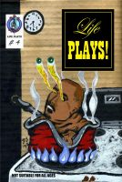 Life Plays Cover Issue 4 by dannyjay69