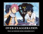 Even Anime Exaggerates by KKBossa