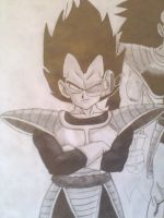 VEGETA SCOUTER by Krizeii