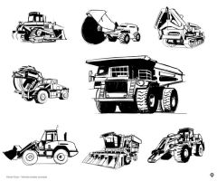heavy vehicles sketches by hision