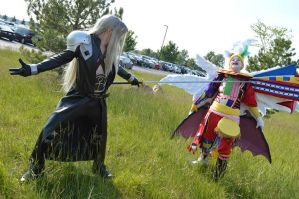 Sephiroth vs Kefka 5 by FaintofHearts33