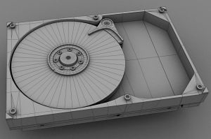 Hard Drive wip by Tom-3D