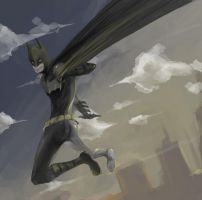 Batman by milkisall