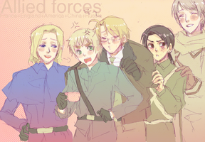 APH:Allied forces by Klunatic