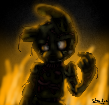 Springtrap by TheLooneyCharboa