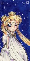 Old Chibi Serenity bookmark by shidonii