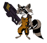 Rocket Raccoon MLP Style (colored) by edCOM02